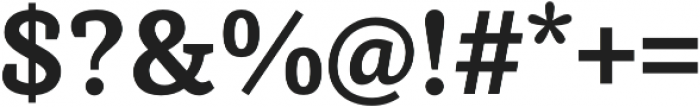 Achille II FY otf (700) Font OTHER CHARS