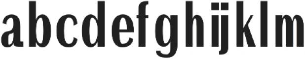 Ackley otf (700) Font LOWERCASE