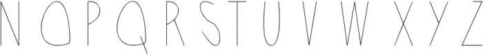 Acorn Light ttf (300) Font UPPERCASE