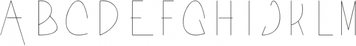Acorn Light ttf (300) Font LOWERCASE