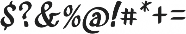 Acratica Regular otf (400) Font OTHER CHARS