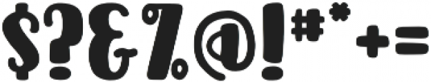 Acres Filled otf (400) Font OTHER CHARS