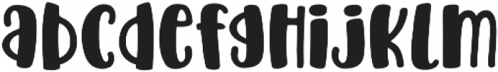 Acres Filled otf (400) Font LOWERCASE
