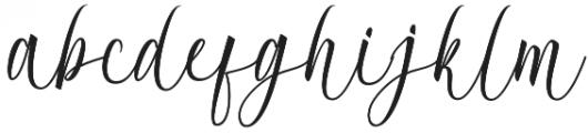 Acrobad otf (400) Font LOWERCASE