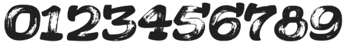 Acrylic Brush Regular otf (400) Font OTHER CHARS
