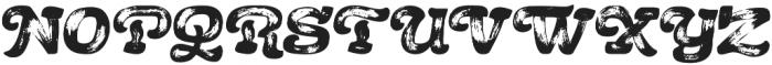 Acrylic Brush Regular otf (400) Font UPPERCASE