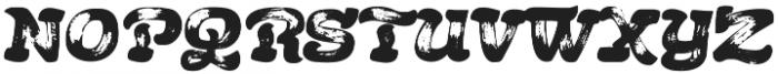 Acrylic Brush Regular otf (400) Font LOWERCASE