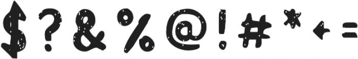 Acrylic Hand Sans SVG ttf (400) Font OTHER CHARS