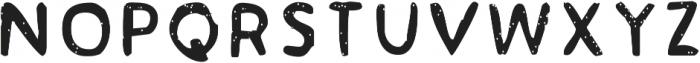 Acrylic Hand Sans SVG ttf (400) Font LOWERCASE