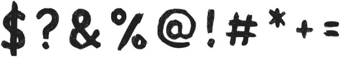 Acrylic Hand Sans ttf (400) Font OTHER CHARS