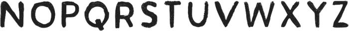 Acrylic Hand Sans ttf (400) Font LOWERCASE