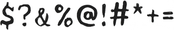 Acrylic Hand Serif ttf (400) Font OTHER CHARS