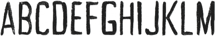 Acrylic Hand Tall ttf (400) Font UPPERCASE