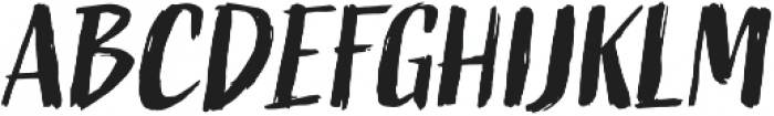 Active One otf (400) Font UPPERCASE