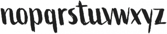 Active Two otf (400) Font LOWERCASE