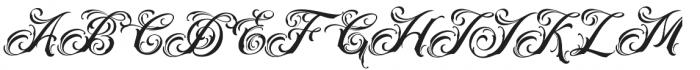 Acuentre Regular otf (400) Font UPPERCASE