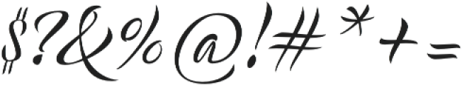 Acustica Script otf (400) Font OTHER CHARS