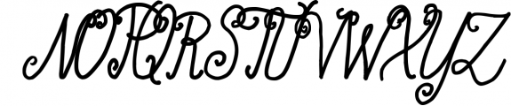 Acarita Font UPPERCASE