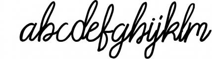 Acarita Font LOWERCASE