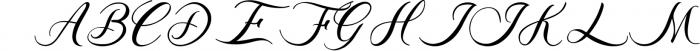 Acasia 1 Font UPPERCASE