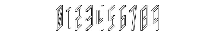 AC Framed Outline Font OTHER CHARS