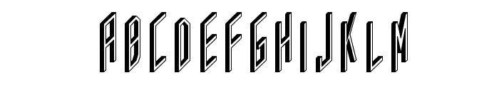 AC Framed Font UPPERCASE