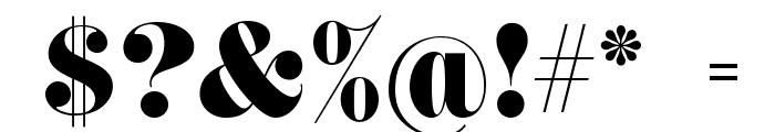 ACHANTI Font OTHER CHARS