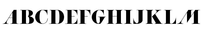 ACHANTI Font UPPERCASE