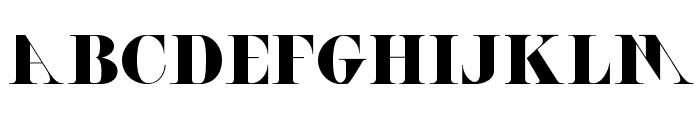ACHANTI Font LOWERCASE