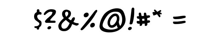 ACMESecretAgentBB Font OTHER CHARS
