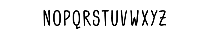 ACWanita Font UPPERCASE