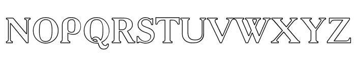 AcadHoCTT Font UPPERCASE