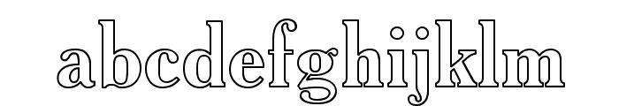 AcadHoCTT Font LOWERCASE