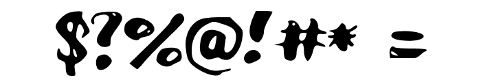 AcademyKiller Font OTHER CHARS