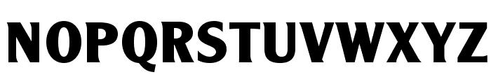 AcademyOpti-Bold Font UPPERCASE