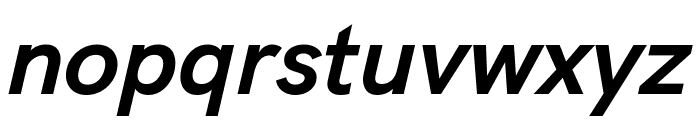 Acari Sans Bold Italic Font LOWERCASE