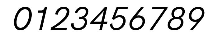 Acari Sans Italic Font OTHER CHARS