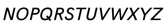 Acari Sans Medium Italic Font UPPERCASE