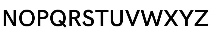 Acari Sans SemiBold Font UPPERCASE