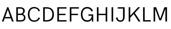 Acari Sans Font UPPERCASE