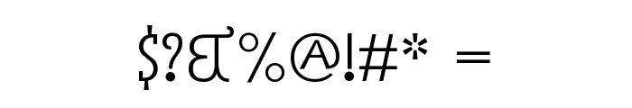 Acca Set Font OTHER CHARS
