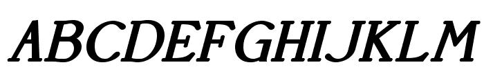 AccanthisADFStd-BoldItalic Font UPPERCASE