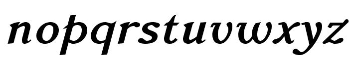 AccanthisADFStd-BoldItalic Font LOWERCASE