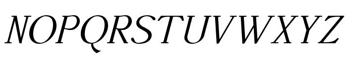 AccanthisADFStd-Italic Font UPPERCASE