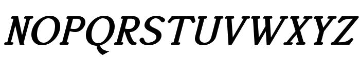 AccanthisADFStdNo2-BoldItalic Font UPPERCASE