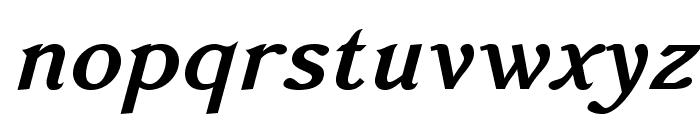 AccanthisADFStdNo2-BoldItalic Font LOWERCASE