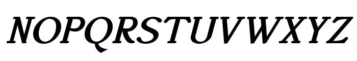 AccanthisADFStdNo3-BoldItalic Font UPPERCASE