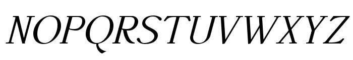 AccanthisADFStdNo3-Italic Font UPPERCASE