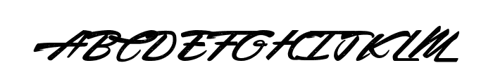 Acceleration & Reaction Font UPPERCASE