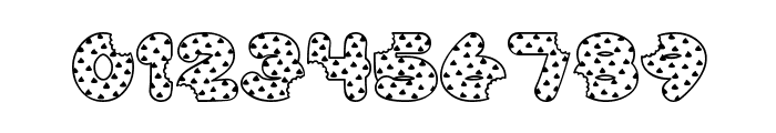 Accent Cookie Dough Font OTHER CHARS